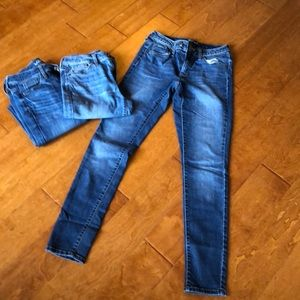 3 Lot Pairs of Jeans